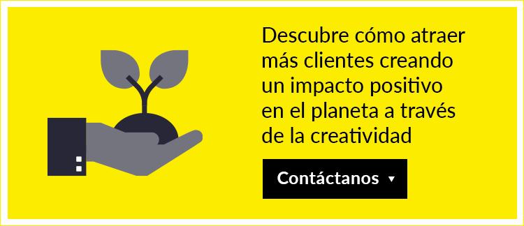 Descubre cómo atraer más clientes creando un impacto positivo en el planeta a través de la creatividad
